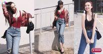 Thời trang đường phố sao Việt: Angela Phương Trinh khoe khe ngực siêu đẹp