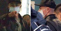 Ông xã Lâm Tâm Như khó chịu, chỉ thẳng mặt phóng viên vì bị đeo bám