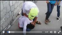 Hải Dương: Nam sinh bị đánh dã man và bị bạn tè bậy trước mặt