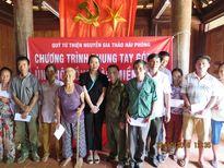 2.000 suất quà và hơn 500 triệu đồng đến với đồng bào vùng lũ Hà Tĩnh, Quảng Bình