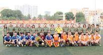 Giao lưu bóng đá giữa Học viên ANND và Cục Tài chính