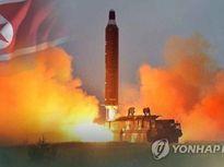 Hàn Quốc: Tên lửa Musudan của Triều Tiên phát nổ làm bệ phóng bốc cháy