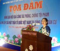 Nâng cao hiệu quả phòng, chống tội phạm của MTTQ Việt Nam