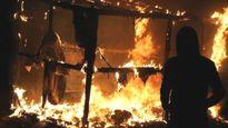 Cháy lớn ở trại tị nạn Calais