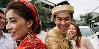 Đám cưới sau 30 ngày quen nhau của cô dâu Việt và chú rể Singapore