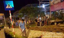 Nam thanh niên bị tàu hỏa hất văng tử vong tại chỗ ở Thường Tín
