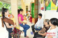 Xã Châu Khê (Con Cuông): Giữ vững chất lượng chuẩn Quốc gia về y tế
