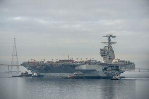Siêu hàng không mẫu hạm Mỹ chưa đánh có thể đã tự chìm