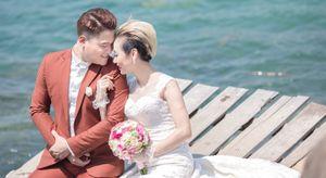 Ảnh cưới lãng mạn của DJ Tiên Moon và chồng nghèo