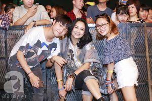Thanh Lam đưa hai con đến ủng hộ chồng cũ Quốc Trung