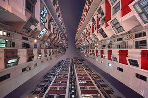 Hút mắt với những tòa chung cư cao tầng ở Hongkong