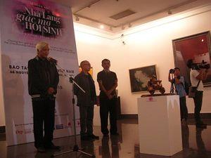 17/61 tác phẩm ủng hộ triển lãm hồi sinh nhà Lang đã được bán