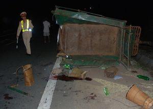 Tai nạn giao thông thảm khốc, 5 người chết, 9 người bị thương
