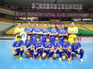 Thái Sơn Nam vô địch futsal nữ Đông Nam Á