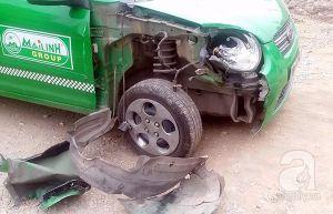 Hà Nội: Tai nạn liên hoàn, 2 người bị thương nặng