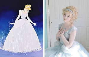 """""""Công chúa Disney"""" xinh đẹp, tài năng gây sốt mạng"""