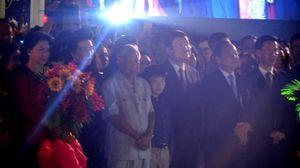 Chủ tịch nước Trương Tấn Sang dự khai mạc đường hoa Nguyễn Huệ tết Bính Thân