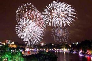 31 địa điểm bắn pháo hoa giao thừa tại Hà Nội dịp Tết Bính Thân 2016