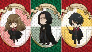 Chiêm ngưỡng các nhân vật Harry Potter phiên bản anime