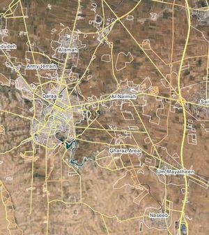 Quân đội Syria đánh chiếm làng Al-Naymah gần biên giới Jordan