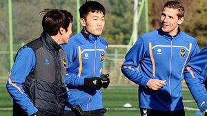 Chân ướt chân ráo đến Incheon United, Xuân Trường đã lao vào tập luyện
