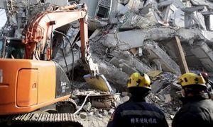 18 người chết, 132 người vẫn mất tích sau động đất Đài Loan
