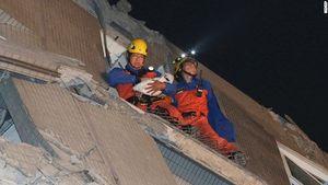Sập chung cư 17 tầng tại Đài Loan: 4 người Việt mất tích