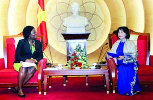 Hình ảnh đẹp của nữ nghị sĩ trong mắt người dân và cộng đồng quốc tế