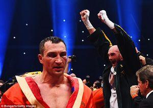 Fury và Klitschko sẽ bỏ túi 120 triệu đô nếu đồng ý đấu trên du thuyền