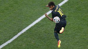 Neymar chọn quả bóng là người tình