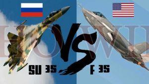"""F-35 """"thua đau"""" trước Su-35, Mỹ bẽ mặt trước Nga?"""