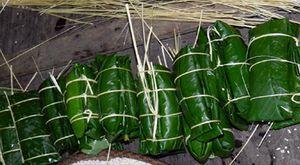 Bánh chưng gù trong tết cổ truyền của người Dao đỏ