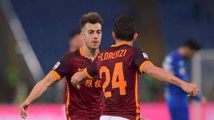Hạ gục Sampdoria, Roma áp sát Inter và Fiorentina