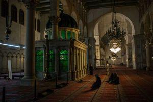 Ảnh hiếm về cuộc sống thanh bình ở thủ đô Damascus