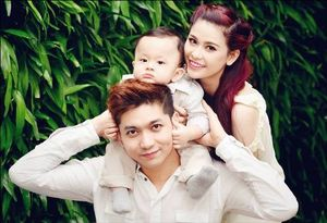 Những cặp vợ chồng đẹp 'lung linh' của showbiz Việt