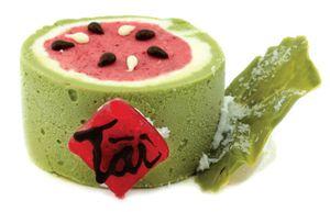 Dưa hấu đỏ - món kem may mắn đầu xuân