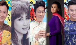 Danh ca Khánh Ly, Lê Uyên, NSƯT Hoài Linh chúc Tết độc giả báo Một Thế Giới