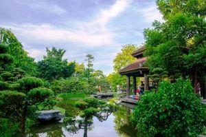 Biệt phủ triệu đô trồng cây cảnh giữa đất vàng Hà Nội