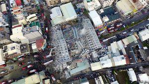 Hé lộ nguyên nhân sập tòa nhà cao tầng ở Đài Loan