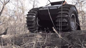 Sherp - xe địa hình có thể leo rào, lội suối với giá khoảng 70.000 USD