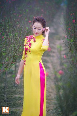Nữ sinh Lào - Hoa khôi trường Dược say đắm tà áo dài