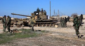 Quân đội Syria mở đợt tấn công mới tại Bắc Aleppo