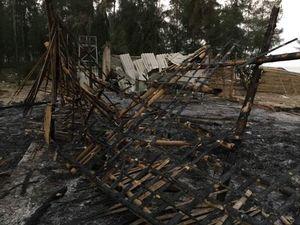 Thanh Hóa: Nhà hàng cháy thành than nghi do kẻ xấu phóng hỏa