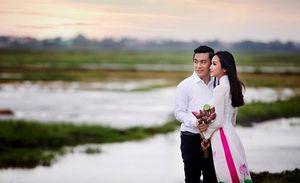 Khoảnh khắc yên bình của Lam Trường bên vợ 9X