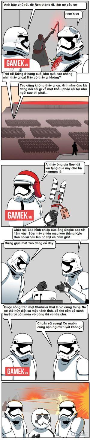 Truyện tranh hài - Cuộc sống khốn khổ của một Stormtrooper