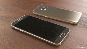 Lộ ảnh thực tế phiên bản Galaxy S7 màu vàng