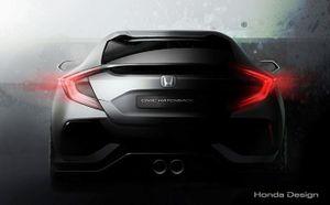 Honda Civic Hatchback sắp ra mắt toàn cầu