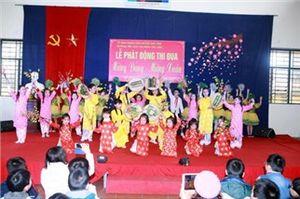 CĐ Giáo dục huyện Gia Lâm (Hà Nội): Phát động thi đua 'Mừng Đảng- Mừng Xuân Bính Thân 2016'