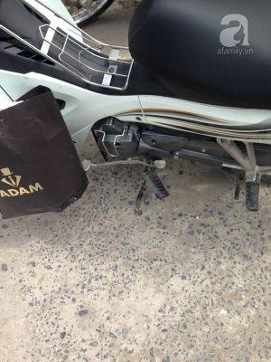 Phẫn nộ lái xe ô tô bỏ chạy sau khi đâm 2 người đi chơi Tết
