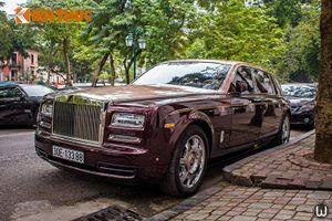 Siêu xe Rolls-Royce đắt nhất Việt Nam lăn bánh tại Hà Nội
